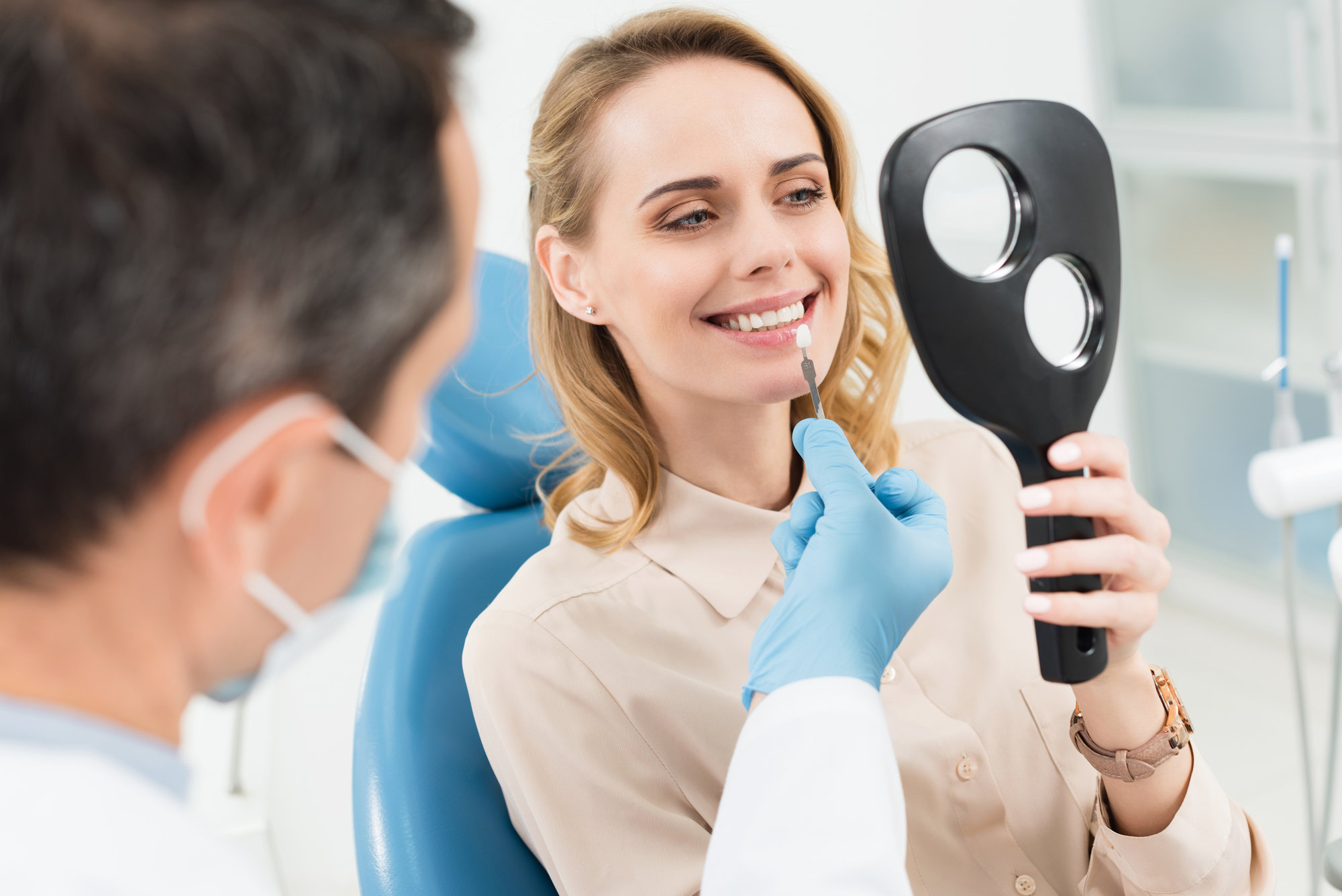Am I a candidate for teeth whitening in West Palm Beach?